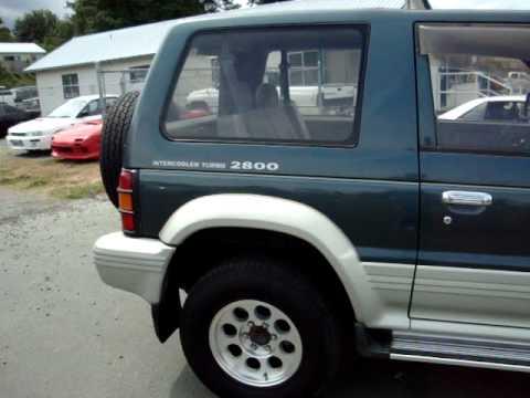 Mitsubishi pajero 2.8 turbo diesel review
