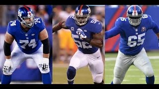 Giants Cut Will Beatty and Geoff Schwartz, and Jon Beason Retires