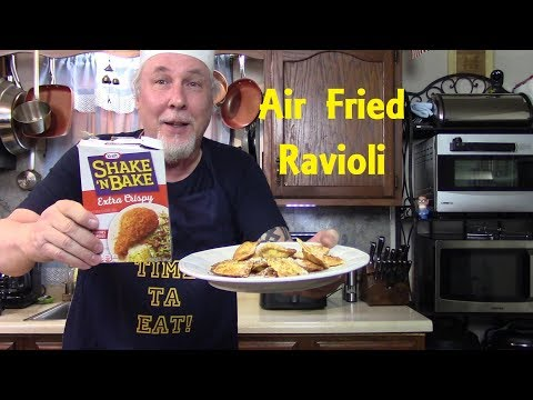 Air Fryer Shake N Bake Ravioli