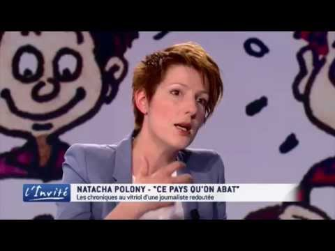 "Natacha POLONY : ""On m'a traitée de réac chez Ruquier"""