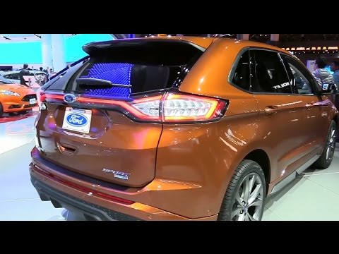 2017 Ford Edge Sport Awd Special Edition Features Exterior And