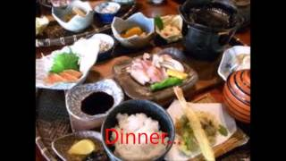 夢前亭 Healing inn in Japan Yumesaki-tei Backpacker 癒しの宿夢前亭 バックパッカー Japanese food