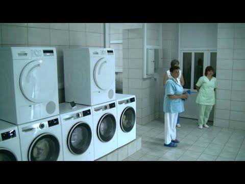 Результат спільної роботи. Оновлення славнозвісної пральні Хустської районної лікарні...