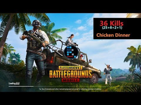 [Hindi] PUBG Mobile   '25 Kills' Chicken Dinner & Reverse Car Driving Challenge