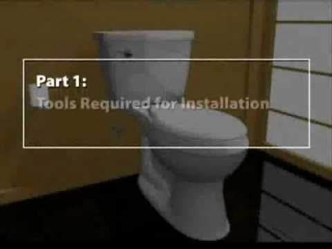 How To Install a Kohler Toilet | eFaucets.com - YouTube