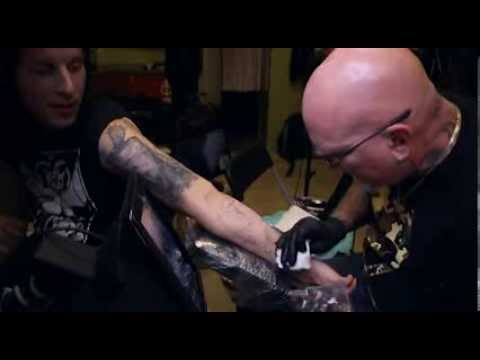 Bob Tyrrell Method To My Madness tattooing DVD