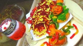 Салат Вампир Хеллоуин Новогодние Рецепты от Ресторан Дома