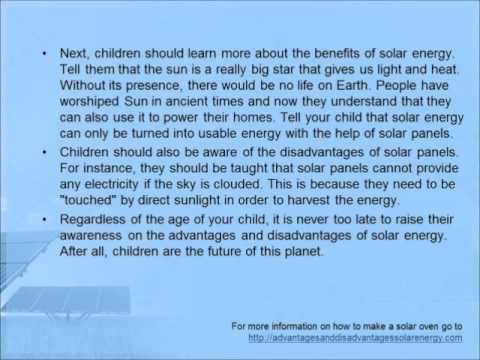 the disadvantages of solar energy for kids  the disadvantages of solar energy for kids