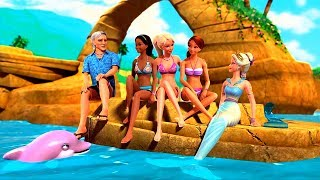 Barbie in A Mermaid Tale - Merliah has found her balance, the family is reunited