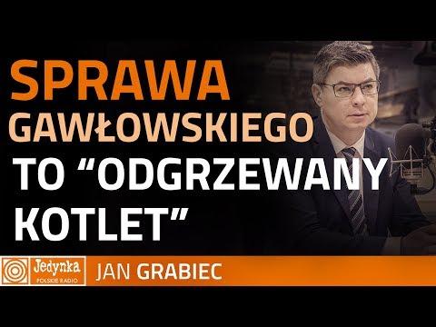 Grabiec: zarzuty wobec Gawłowskiego są wyssane z palca