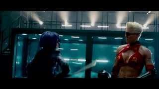 Kick Ass 2 Hit Girl VS Mother Russia
