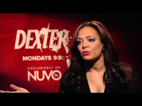 Lauren Velez talks to about being Latina  Dexter on NUVOtv