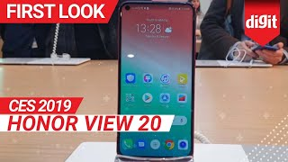 CES 2019: Honor View 20 First Look | Digit.in