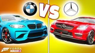 Forza Horizon 4 - MERCEDES VS. BMW