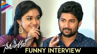 Nani and Keerthy Suresh Funny Interview | Nenu Local Movie | Dil Raju | DSP | NenuLocal