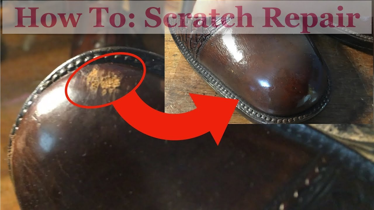 to Repair Badly Scuffed/Scratched Shoes
