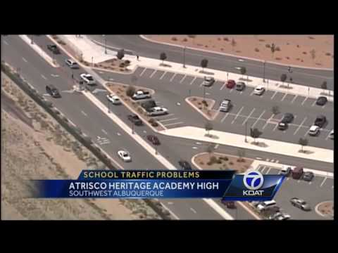 Atrisco Heritage Academy High School Traffic