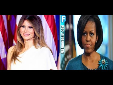 Melania Just Moved Into White House And Pissed Michelle Off With The Very First Thing She Did
