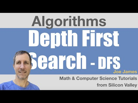 Depth-First Search Algorithm DFS