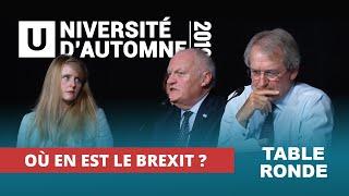 Table ronde : Où en est le Brexit, 26 jours avant la date fatidique ?