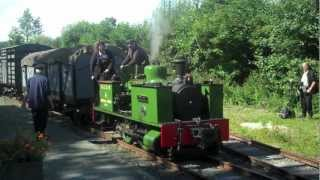 Narrow gauge steam on the Welshpool & Llanfair Light Railway