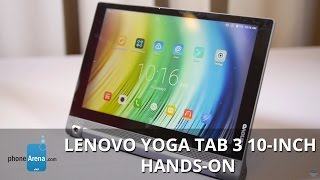 Lenovo YOGA Tab 3 10-inch hands-on(PhoneArena presents a hands-on video of the Lenovo YOGA Tab 3 10-inch. -------- PhoneArena.com is your ultimate source of mobile tech news, reviews, and ..., 2015-09-02T19:00:03.000Z)