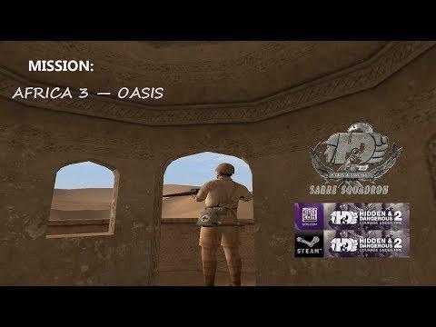 COOP MISSION:  Africa 3 (Oasis) | Hidden & Dangerous 2 (2018)