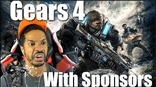 Gears of War 4 With Sponsors - Xbox One X