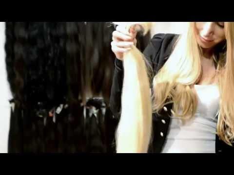 Extrémně dlouhé vlasy - Blond vlasy dlouhé metr :-)