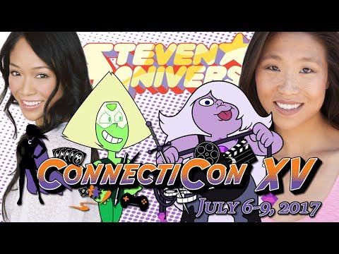 Steven Universe: Shelby Rabara and Michaela Dietz Q&A // ConnectiCon 2017