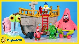 SpongeBob SquarePants Toys with Krabby Patty Food Truck Toy Review
