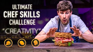 Ultimate CHEF SKILLS Challenge: CREATIVITY | SORTEDfood