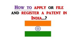 patent filing companies in india