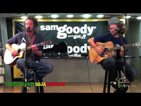 SOJA   'Everything Changes Acoustic'   Jacob Hemphill  Trevor Young