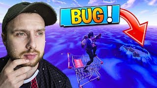 UN ABONNE ME MONTRE COMMENT FAIRE TOP 1 AVEC LE BUG DU CADDIE SUR FORTNITE BATTLE ROYALE !