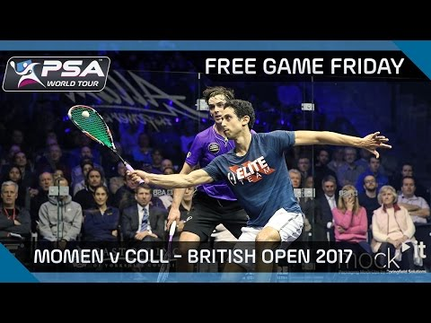 Squash: Free Game Friday - Momen v Coll - British Open 2017