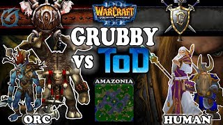 Grubby | Warcraft 3 TFT | 1.30 | ORC v HU on Amazonia - Grubby vs ToD