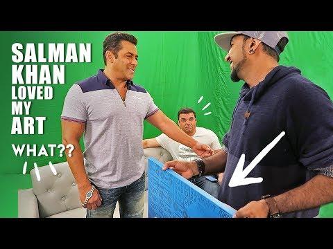 Salman Khan Has My Painting Now   Vlog