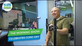 Celebrating Gong Day in the Morning Show Studio | Elvis Duran Exclusive
