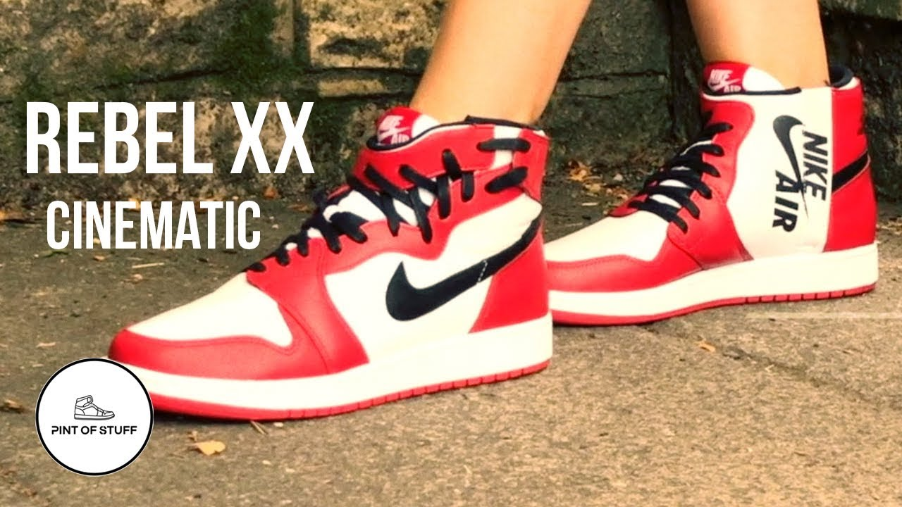 the best attitude 21761 a17b7 Jordan 1 Rebel XX Chicago On-foot Cinematic Look with SJ