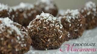Easy No Bake Chocolate Macaroons | Raw Vegan Recipe Thumbnail