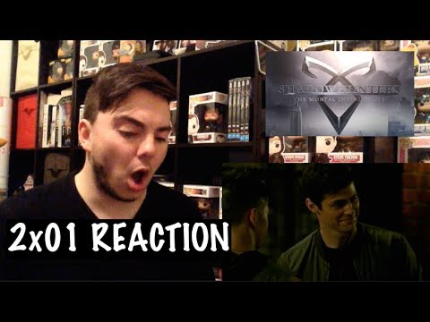 SHADOWHUNTERS - 2x01 'THIS GUILTY BLOOD' REACTION