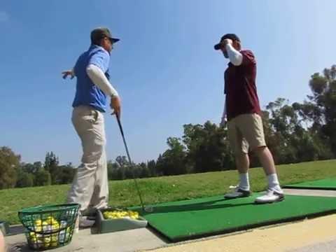 Mark's second golf lesson 001