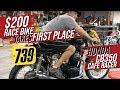Budget Build $200 Honda CB350 Cafe Racer Motorcycle Race Bike Took 1st Place!