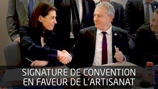 Signature de convention avec la Chambre de Métiers et de l'Artisanat de Région thumbnail