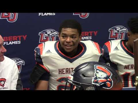 Heritage-Lynchburg Press Conference after 24-20 State Championship win over Phoebus