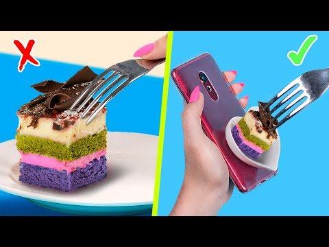 8 Essbare Handyhüllen DIY / Essbare Streiche!