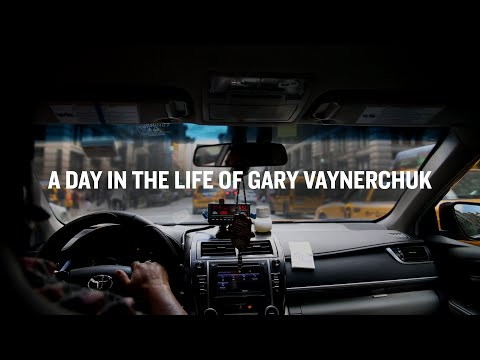 A Day in the Life of Gary Vaynerchuk