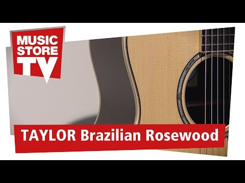 TAYLOR Guitars Brazilian Rosewood Gitarren Aus Rio-Palisander