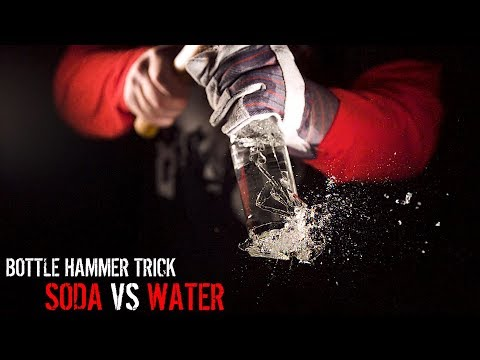 WATER HAMMER (18,000FPS) | Why Does SODA Not Break the Bottle?